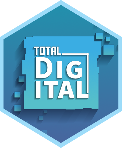total digital logo